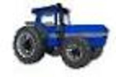 CAD Library: Tractor