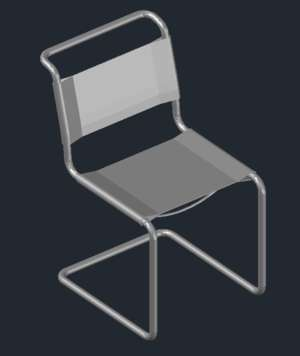 Cantilever Armchair similar to Mart Stam